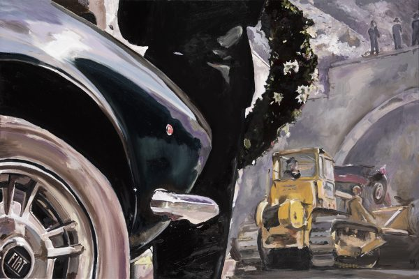 the end of the road - great car painting