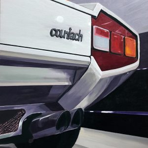 countach! art painting