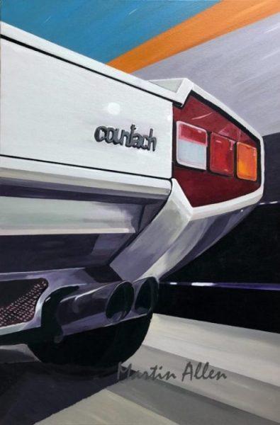 countach! art painting
