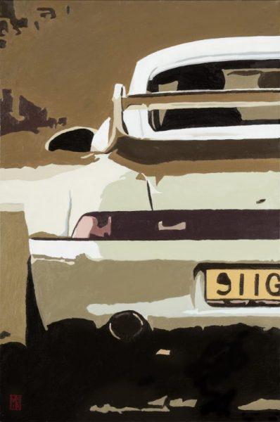 Porsche 911 GT2 Car Painting