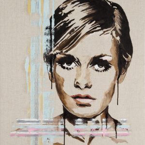 Twiggy - fine art painting and limited edition prints