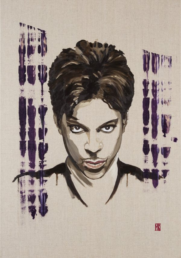 the great prince rogers nelson fine art painting print by emerging artist martin allen