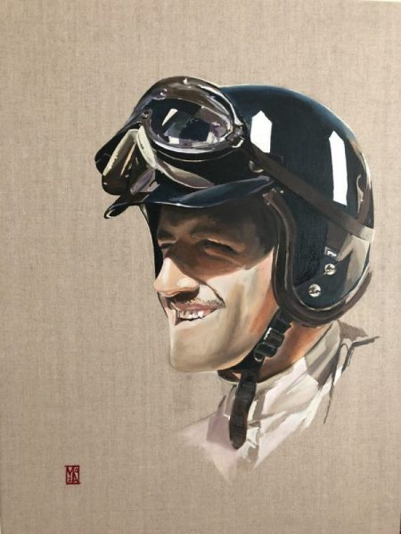 78th GGentleman Driver Graham Hill Fine art Lotus 49