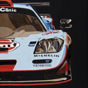 McLaren F1 GTR Longtail Art Painting