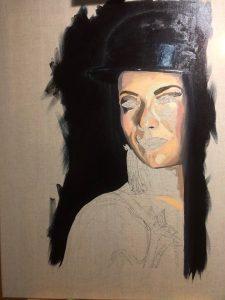 Mad Cat Burlesque Dancer Fine Art Portrait