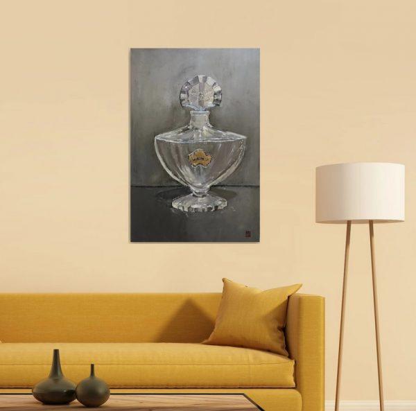 Guerlain Shalimar Perfume Oil Painting wall art