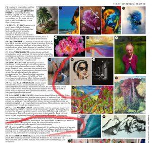 Artist Martin Allen featured in British Vogue