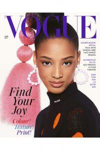 Artist Martin Allen in British Vogue