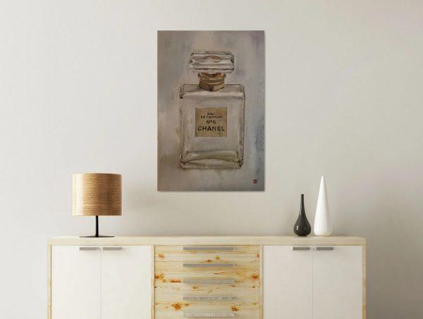 Chanel No 5 perfume art print